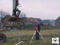 01 Auswinkeln und Vermessen des Baugrundstückes